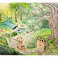 杜杜鳥與啦啦熊故事插圖