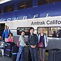 Day 1. 搭火車穿越加州