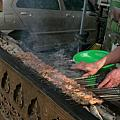 北京星巴路的羊肉串