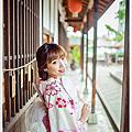 [顧客分享]黃色櫻花浴衣寫真by旺旺