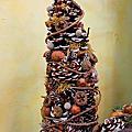 綠色穀倉乾燥花-冬季燭台