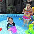 106.7 大寶貝 後院玩水樂趣喔~