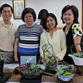 花藝研習班:多肉植物(2017年6月13日)