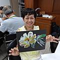 印心畫印心話:白花(2017年8月11日)