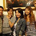 20090910 LINDA告別台灣的晚餐與耳洞鬼打牆