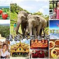 泰國清邁8天7夜行程總覽