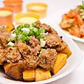 2012-10-27 粉蒸肉+椒鹽蝦