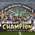 2014 巴西世足-德得坦克奪冠