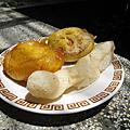 台南市國華街友愛街口:國華街五十年老店番薯椪白糖粿