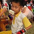 3月28日埔心團委會-辦理古早爆米香,關懷校園弱勢及慶祝兒童節活動