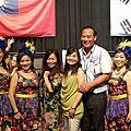 韓國安山市女性業餘合唱團公演