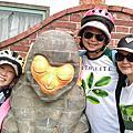 騎單車遊客庄