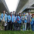 104年9月13日協助守護河川,鹽水溪淨灘活動