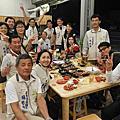 104年12月08日永康區團委會會長舉辦第十六屆會務幹部年終慰勞宴
