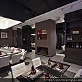 (商空)尊貴質感 深色古典鐵板燒餐廳