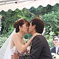 2013年3月30日 青青食尚花園會館 婚宴 二哥蝦米二嫂飄飄 結婚典禮儀式