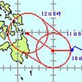 2011年熱帶性低氣壓路徑預測圖