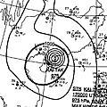 2011年颱風附近氣壓場
