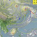 2012年天氣圖