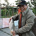 林先生四度來訪,再度釣到大鯉魚~~