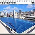 沖繩水之都那霸酒店 無邊際游泳池