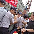 2012.09.06華隆罷工第一波衝突-紡安強行推進