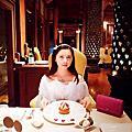 泰國.清邁.DHARA DHEVI Villa渡假村~SPA+ 法式晚宴+夜晚篇