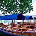 斯洛維尼亞~手櫓船遊布萊德湖Bled Lake