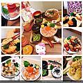 台中.花囍家日式料理+DIY小花環