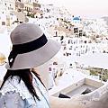 希臘~聖托里尼島~伊亞 日落Oia