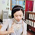 台中~Micoro Kitchen~北海道媽料理~「伊摩奇」.可樂餅+旋轉禮服咖哩蛋包飯