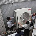 工學大樓 更換氣冷式冰水機