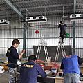 電子鍚料工廠 安裝冰水主機