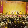 供佛齋僧大會在彰化 萬人湧入彰化縣立體育館