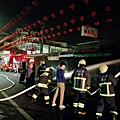 彰化社頭鄉菜市場深夜大火 打火兄弟迅速控制火勢
