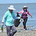 彰化縣響應世界海洋日用淨灘行動守護地球愛護海洋