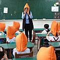 國家防災日前彰化全縣防災演練 鹿東國小地震避難疏散震撼教育