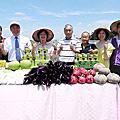 關心二水麻糬茄生產銷售 王惠美為農產行銷代言