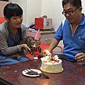 旺旺3歲生日囉 ♥
