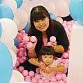 107.8.11粉紅泡泡氣球展