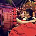舒 台北新東南婚宴彩妝整體造型(二)~飛魚婚紗  攝影BY 95工作室