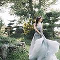 SUMMER  苗栗藍庭花園餐廳 結婚午宴彩妝整體造型  攝影:蘇格瑞攝影