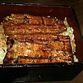 京都屋的鰻魚飯+雙連圓仔湯的麻糬