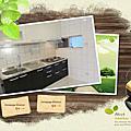 @廚具 廚房設計一字型-作品:新北市新店張公館