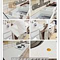 @ 廚房設計 廚具工廠直營 進口韓國三星人造石檯面一字型廚房 作品分享-台北市士林林公館