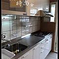 @不鏽鋼檯面一字型廚房設計 系統廚具櫥櫃工廠直營 作品分享:新店北宜路黃公館