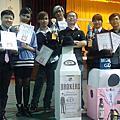 2014/5/18醒夜盃國際飲料調製大賽大放異彩