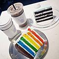 建大COMMON GROUND 貨櫃百貨以及超人氣DoreDore繽紛彩虹蛋糕