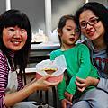 2010/11/13親子烘焙~感恩節南瓜布丁派