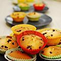 2010/3/20親子烘焙課~比利時巧克力豆杯子蛋糕